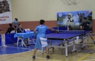 Analig Masa Tenisi Grup Müsabakaları Karaman'da...
