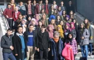 Ermenekli Öğrencilerden KMÜ'ye Ziyaret