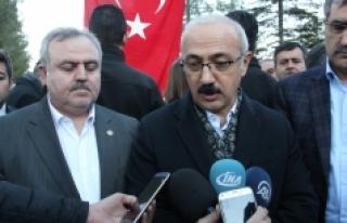 """Kalkınma Bakanı Elvan: """"Güvenlik Tesis Edilince..."""