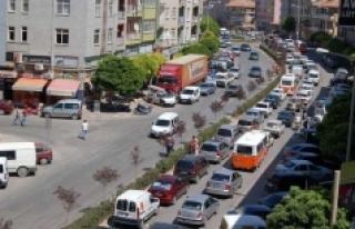 Karaman'da Araç Sayısı Bir Yılda 3 Bin 591 Adet...