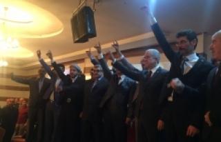 Karaman'da MHP'liler Milli Birlik Gecesinde buluştu