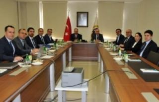MEVKA Yönetim Kurulu Toplandı