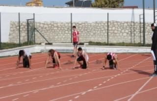 Puanlı Atletizm Yarışlarına Spor Lisesi Damgası