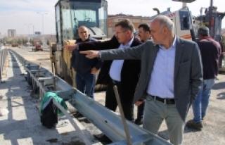 Sanayi Köprülü Kavşağı Trafiğe Açılıyor