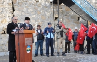 Sarıveliler'de 200 Kişi Afrin Operasyonuna Katılmak...