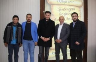 Tuğrul Selmanoğlu Başkan Çalışkan'ı Ziyaret...