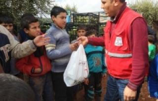 Akçaşehir'den Çıkan Yardım Tırı Afrin'deki...