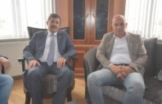 Başkan Çalışkan'dan Ali Armutlu'ya Ziyaret