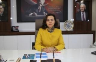 Dünya Kadınlar Günü'nde Belediye Başkan...