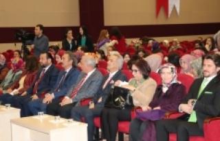"""KMÜ'de """" Karaman'da Kadın Olmak""""..."""
