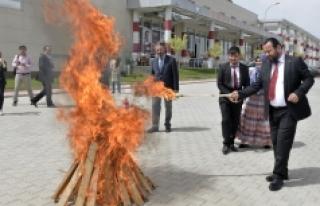 KMÜ Rektörü Prof. Dr. Mehmet Akgül'ün Nevruz...