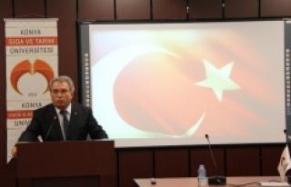 Konya Gıda Ve Tarım Üniversitesi Çanakkale'yi...