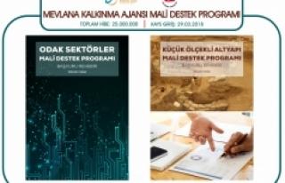 MEVKA'nın Mali Destek Programlarına Başvurular...