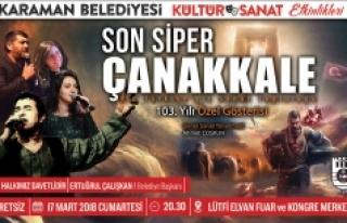 """""""Son Siper Çanakkale"""" Tiyatro Oyunu Cumartesi..."""