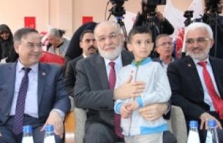 """SP Genel Başkanı Karamollaoğlu: """"Bugün Dört..."""