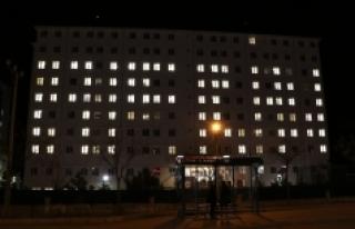 Üniversite Öğrencilerinden Mehmetçik'e Işıklı...
