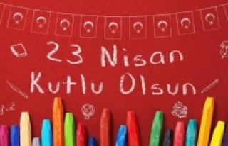 23 Nisan Kutlama Mesajları