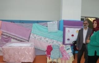 Karaman'da Ev Tekstili Sergisi