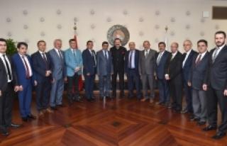 Karaman Ticaret Borsası'ndan Hisarcıklıoğlu'na...