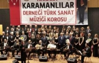 Karamanlılar Derneği Türk Sanat Müziği Korosu...