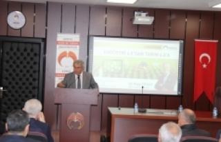 """KGTÜ'de Tarım 4.0 Konferansı """"Akıl Terinin..."""