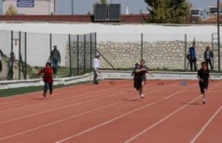 Özel Sporcular Türkiye Atletizm Şampiyonası Karaman'da...