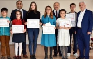 Sağlıklı Nesil Sağlıklı Gelecek Projesinin Ödülleri...