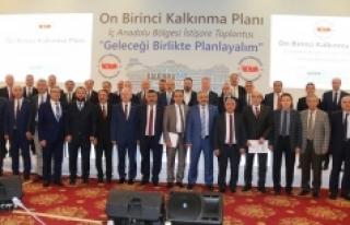 Vali Meral 11. Kalkınma Planı İç Anadolu Bölgesi...