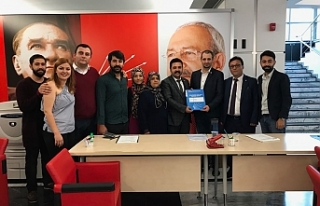 Baştuğ'da CHP'den Milletvekili Aday Adaylığı...