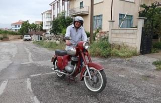 """Gençlik Tutkusu """"Motosiklet""""in Koleksiyonunu..."""