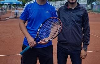 İşitme Engelliler Tenis Şampiyonası'nda İlimizde...
