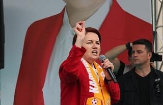 İYİ Parti Genel Başkanı Akşener İlimizde Halka...