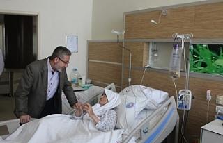 """Karaman Devlet Hastanesinde """"Manevi Rehberlik""""..."""