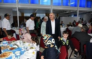Şehit Aileleri Ve Gaziler Onuruna İftar Yemeği...