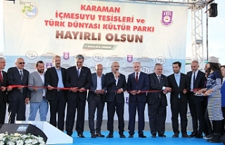 Bakan Elvan, İçme Suyu Tesisleri Ve Türk Dünyası...