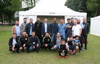 HOKAF Futbol Turnuvası ve Kültür Şöleni Amsterdam'da...