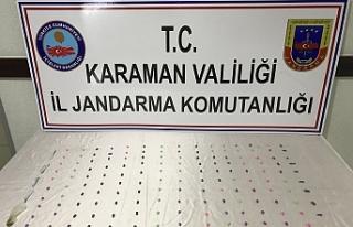 Karaman'da Uyuşturucu Hap Ve Esrar Operasyonu