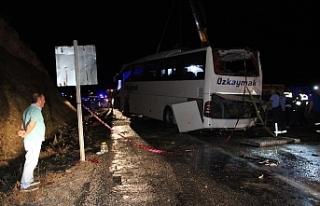 Karaman'daki Otobüs Kazasında Yaralanan 47 Kişiden...