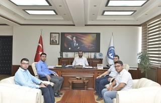 TÜGVA'dan Rektör Akgül'e Ziyaret