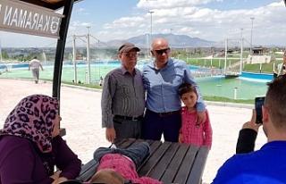Türk Dünyası Kültür Parkı Bayramda Da Vatandaşların...