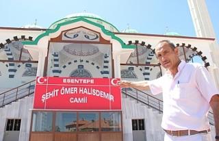15 Temmuz kahramanı Şehit Ömer Halisdemir'in...