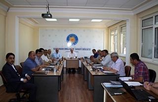 OSB Müteşebbis Heyeti Vali Fahri Meral Başkanlığında...
