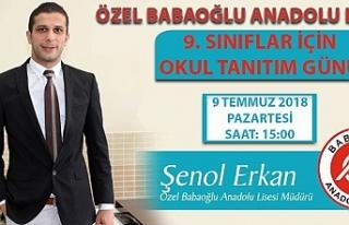 Özel Babaoğlu Anadolu Lisesi 9. Sınıflara Özel...