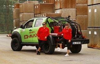 Isuzu, Kadın Yarış Pilotları Transanatolia'ya...