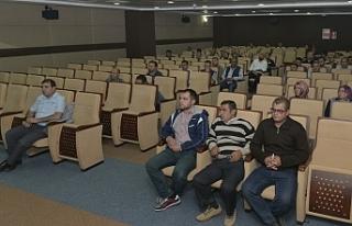 KMÜ'de İş Sağlığı Ve Güvenliği Eğitimi...