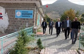 Madenşehri Köyüne Sürpriz Ziyaret