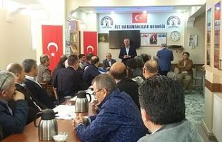 İstanbul'daki Dernekler Toplandı