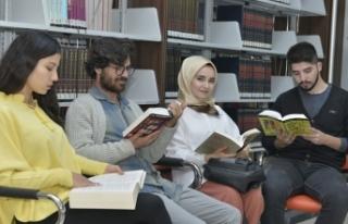 Üniversite Kütüphanesinden 2018 Yılında 21 bin...