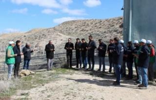 Ayrancı Barajı Sulama Sezonu Açıldı