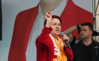 İYİ Parti Genel Başkanı Akşener İlimizde Halka Seslendi